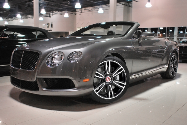 2014 Bentley Continental GTC V8 Mulliner