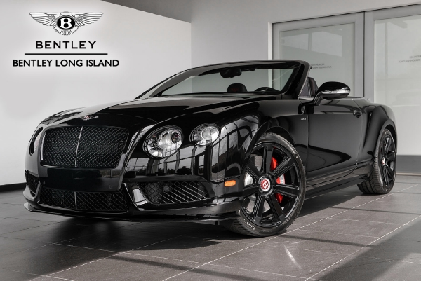 2015 Bentley Continental GTC V8 S Concours Series Black
