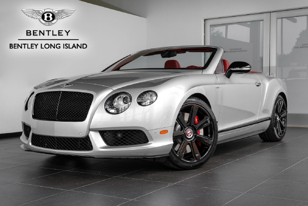 2015 Bentley Continental GT V8 S Convertible Concours Series