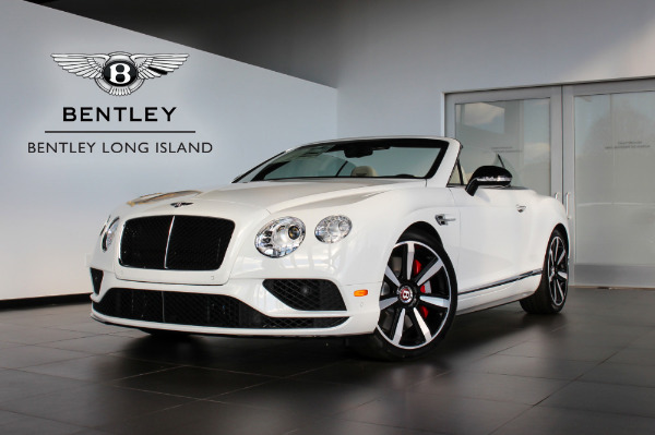 2016 Bentley Continental GT V8 S Convertible Mulliner