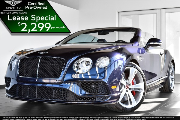 2016 Bentley Continental GT V8 S Convertible GTC V8 S Mulliner