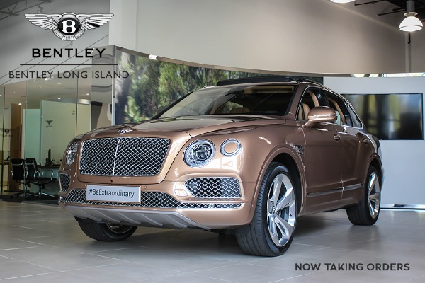 2017 Bentley Bentayga Now Taking Orders