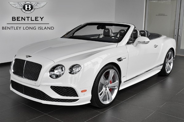 2017 Bentley Continental Gt Speed Convertible Bentley