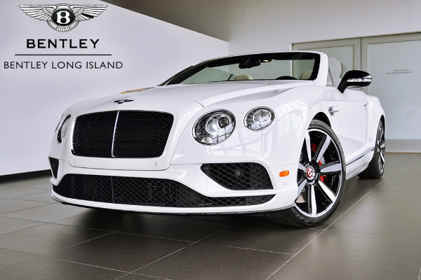 2016 Bentley Continental GT V8 S Convertible V8 S Mulliner