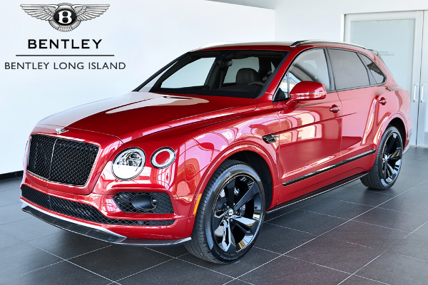 Bentley Bentayga Interior >> 2018 Bentley Bentayga Black Edition - Bentley Long Island | Vehicle Inventory