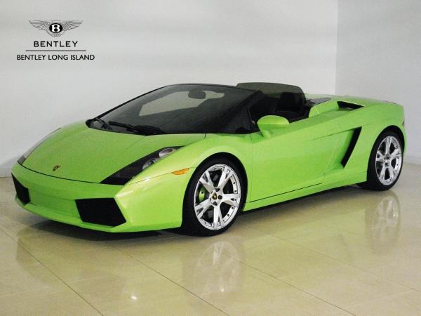 2008 lamborghini gallardo spyder - Lamborghini Gallardo Spyder Green