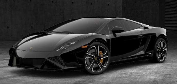 2013 Lamborghini Gallardo LP 560 4 In Nero Noctis With Nero Perseus  Alcantara Interior. Additional Features Include Branding ...