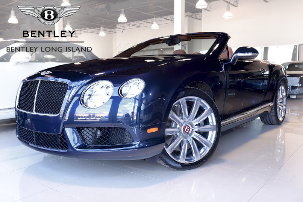 2014 Bentley Continental GT V8 Convertible
