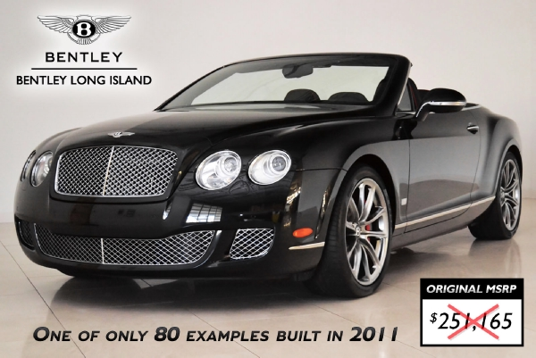 2011 bentley continental gt speed convertible 80-11 edition