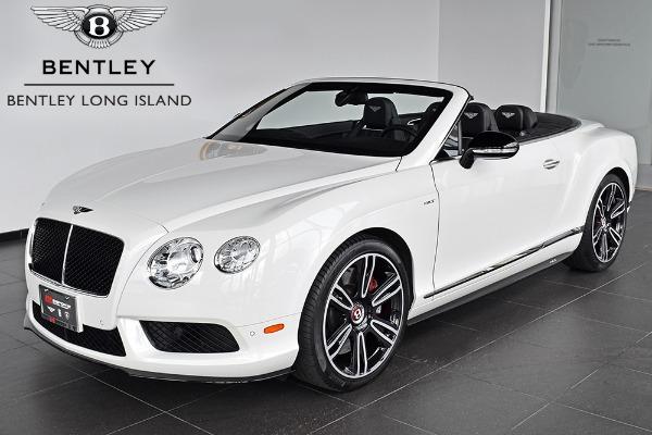2014 Bentley Continental GT V8 S Convertible - Bentley Long Island ...