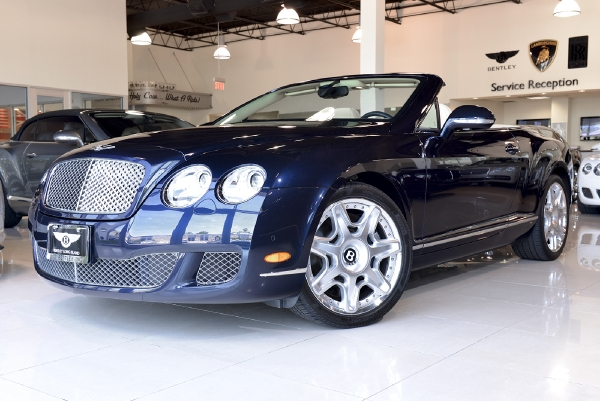 2011 Bentley Continental Gt Convertible Mulliner Bentley Long