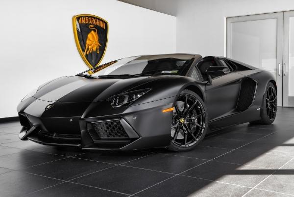 2014 Lamborghini Aventador LP 700-4 Roadster - Bentley Long Island ...