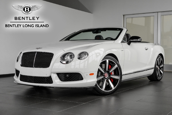 2015 Bentley Continental GT V8 S Convertible Mulliner