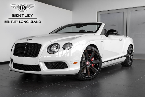 2015 Bentley Continental GT V8 S Convertible Concours Series Black ...