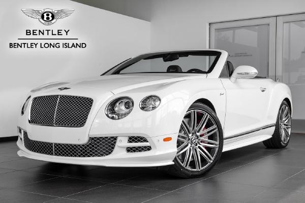 2015 Bentley Continental GT Speed Convertible - Bentley Long Island ...