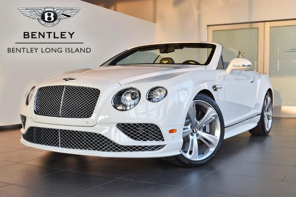 2016 Bentley Continental GT Speed Convertible
