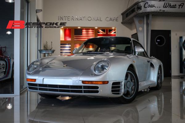 1987 Porsche 959 Komfort Bentley Long Island Pre Owned Inventory