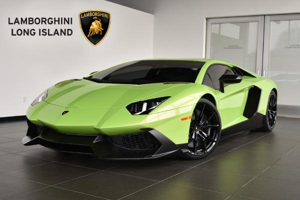 2014 Lamborghini Aventador LP 720-4 50 Anniversario