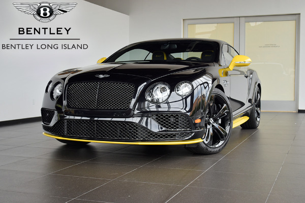 2017 bentley continental gt speed black edition - bentley long