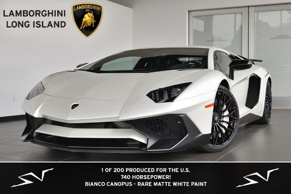2016 Lamborghini Aventador Sv Lp750 4 Bentley Long Island Pre