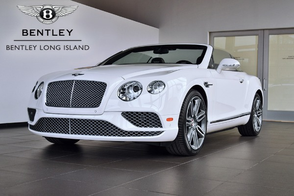 2017 Bentley Continental GT V8 Convertible