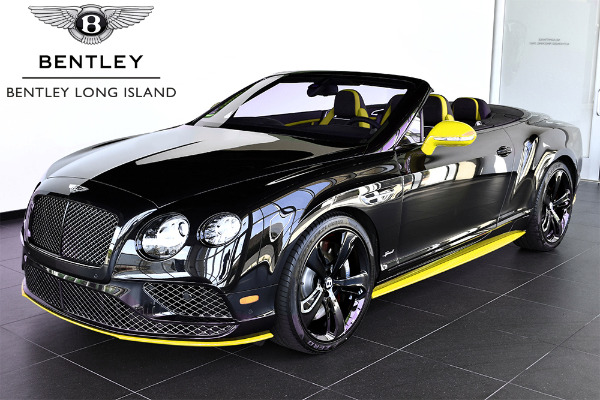 2017 Bentley Continental GT Speed Convertible Black Edition