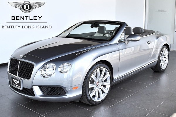 2013 Bentley Continental GTC V8 - Bentley Long Island | Pre-Owned ...