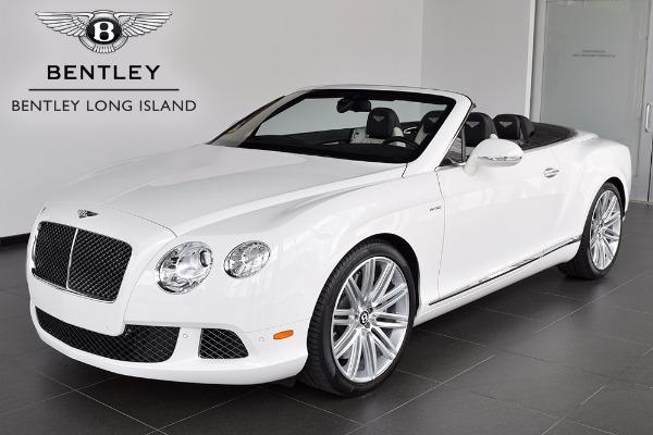 2014 Bentley Continental GT Speed Convertible - Bentley Long Island ...