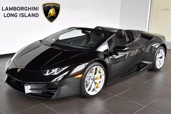 2018 Lamborghini Huracan Rwd Spyder Bentley Long Island Vehicle Inventory
