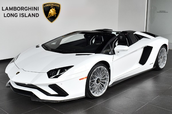 2018 Lamborghini Aventador S Roadster Bentley Long Island Vehicle Inventory