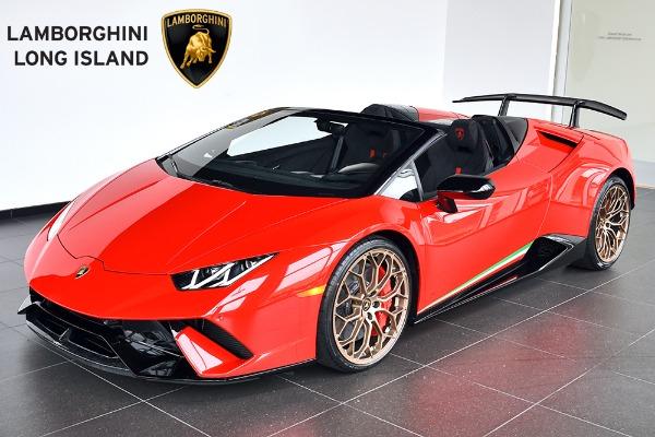 2019 Lamborghini Huracan Performante Spyder Bentley Long Island