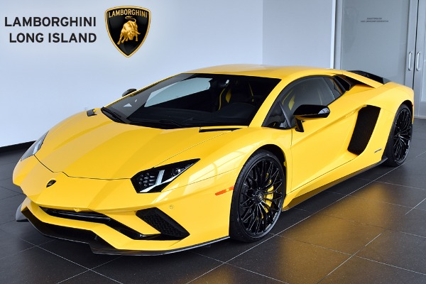 2018 Lamborghini Aventador S Coupe
