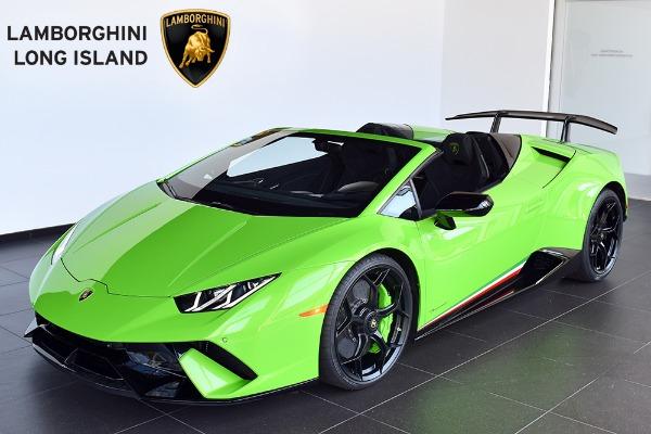 2019 Lamborghini Huracan Performante Spyder , Bentley Long
