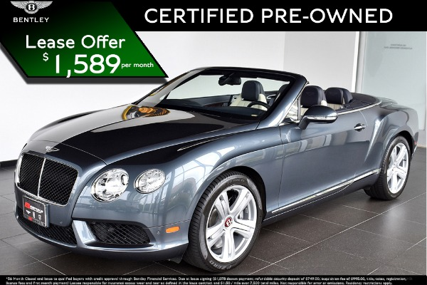 2015 Bentley Continental GT V8 Convertible GTC V8