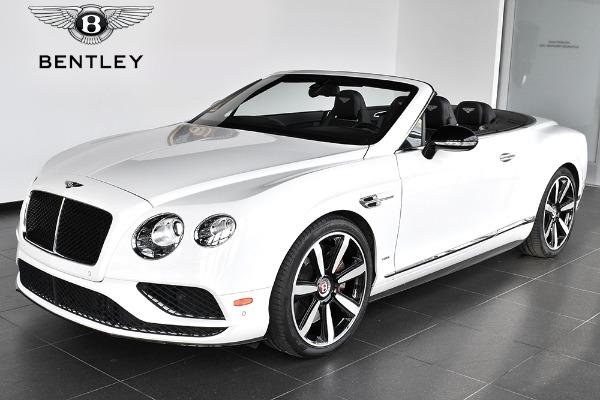 2016 Bentley Continental GT V8 S Convertible GT V8 S