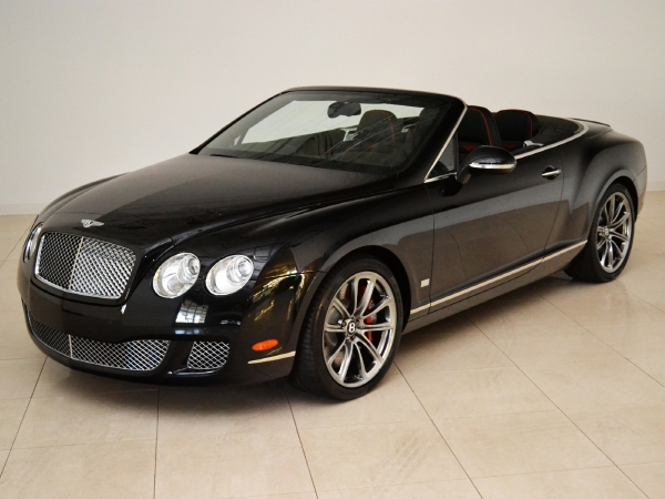 2011 Bentley Continental Gt Speed Convertible 80 11 Edition