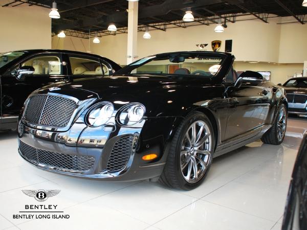 2013 Bentley Continental Supersports Convertible Isr Bentley Long