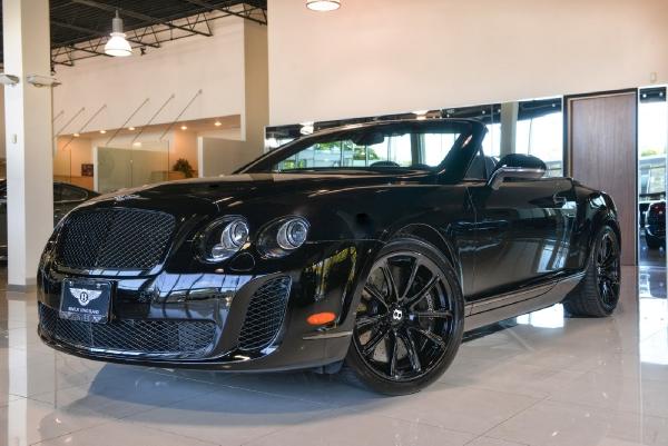 2011 Bentley Continental Supersports Convertible Bentley Long